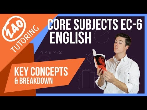 TExES CORE Subjects EC-6: English [Learn Whats On The Test]