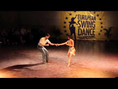 ESDC 2012 - ALL STAR LINDY HOP COUPLES (Chance Bushman & Lisa Casper)