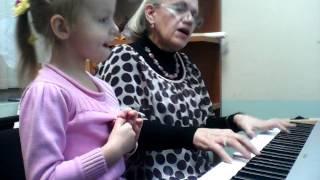Урок музыки в центре дополнительного творческого и гуманитарного образования