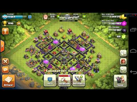 TH 9 Clash Of Clans Account for sale kik (FireOrder)