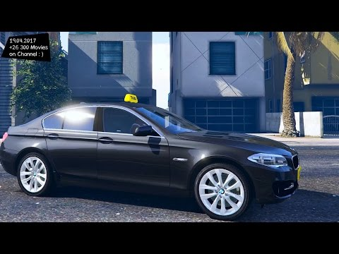 German Taxi Pack New ENB Top Speed Test GTA Mod