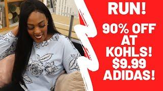 RUN!! KOHLS 90% OFF! $9.99 ADIDAS & MORE!