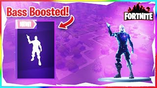 *NEW* Intensity Emote! (Bass Boosted) (Fortnite)