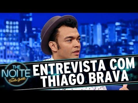 The Noite (28/09/15) - Entrevista com Thiago Brava