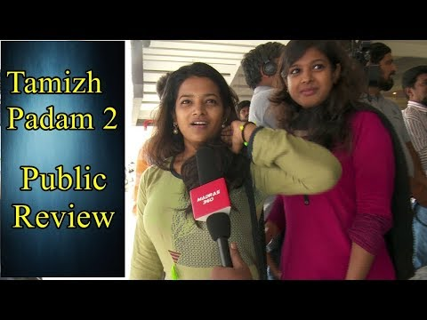Tamizh Padam 2 public review - Thala and Thalapathy Fans EnjoyingTogether