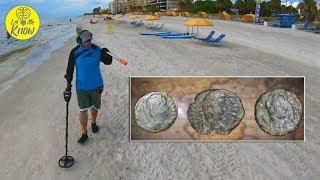 Florida Treasure Hunter's Rare Find Buried On Beach Includes Possible 'Roman Era' Coins