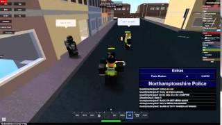 Polícia de North Yorkshire Roblox Officer SO-417 filmagens