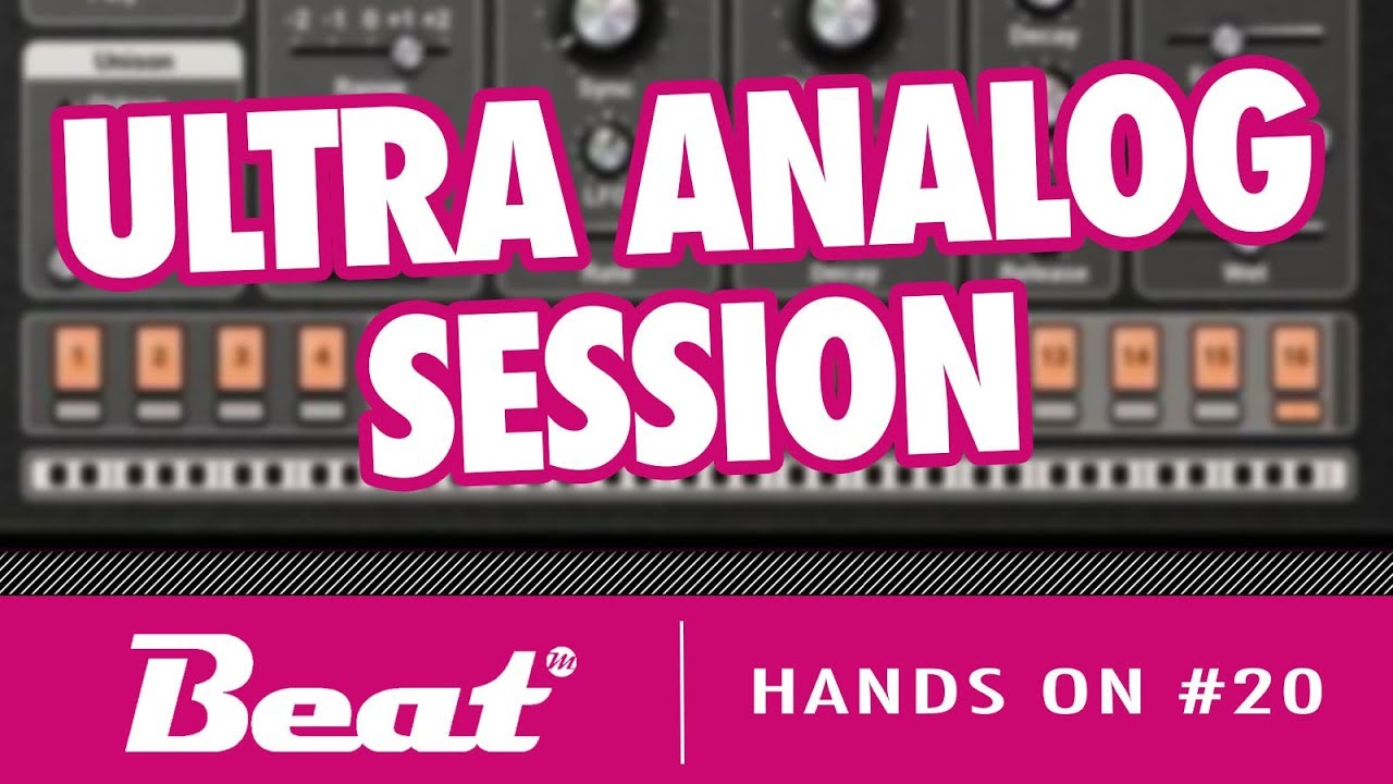 ultra analog session download