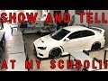 BRINGING MY CAR TO SHOW AND TELL (IN CLASSROOM!!!)
