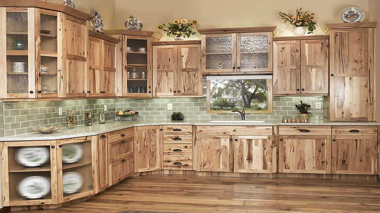 Rustic Wood Kitchen Cabinet Design Ideas