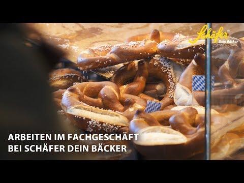 Arbeiten im Fachgeschäft - Schäfer Dein Bäcker