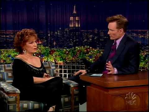 Conan O'Brien 'Joy Behar 12/21/04