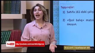"""""""Dərs vaxtı"""": 4-cü sinif dərsləri  (16.04.2021)"""
