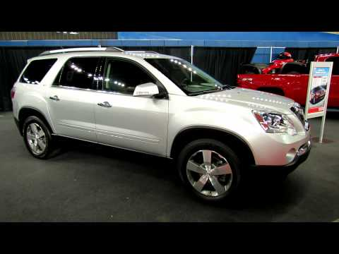 2012 GMC Acadia SLT AWD Exterior and Interior at 2012 Montreal Recreational Vehicles Show