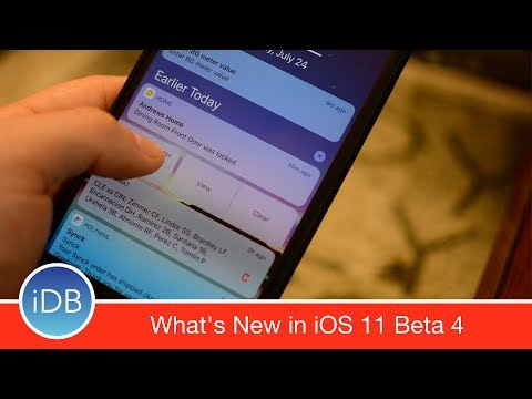 Whats New in iOS 11 Beta 4: UI Tweaks, New Icons, & More