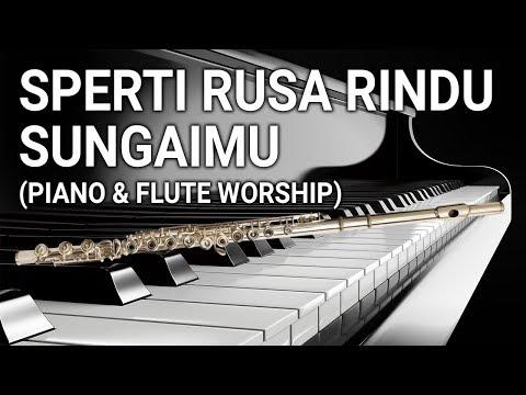 Piano & Flute ; Sperti Rusa Rindu SungaiMu