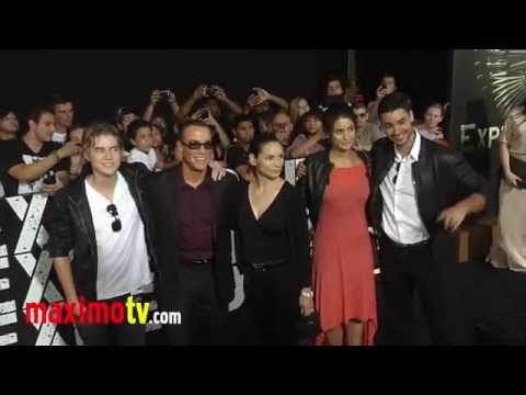 "Jean-Claude Van Damme at ""The Expendables 2"" Los Angeles Premiere ARRIVALS"