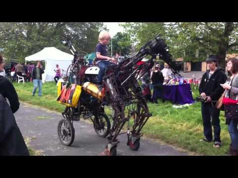 Steam Punk Robotic Horse