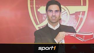 Arsenals neuer Trainer Arteta: Von Guardiola lernte er das Handwerkszeug | SPORT1