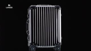 LANZZO Aluminum Magnesium Alloy Hardshell Luggage