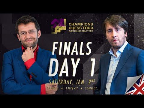 $1.5M Champions Chess Tour: Airthings Masters   Final Day 1   Peter Leko & Tania Sachdev
