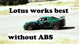 Autocross Adventures: Lotus works better without ABS