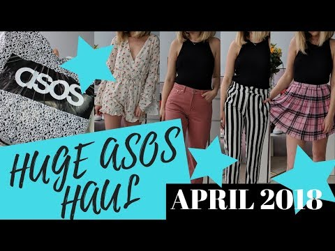 HUGE ASOS Haul & Try On - APRIL || COCOA CHELSEA