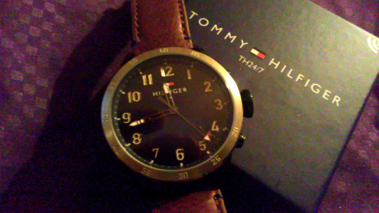 db4cd513d31625 Tommy Hilfiger 24/7 Smartwatch Unboxing P2: Return! - YouTube