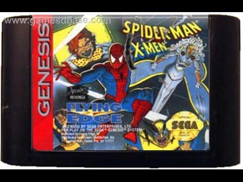 CLASSIC GAMES # 28 SPIDERMAN X - MEN ARCADE REVENGE SEGA GENESIS