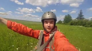 Мій перший стрибок з парашутом, аеродром Коломия 28 травня 2017