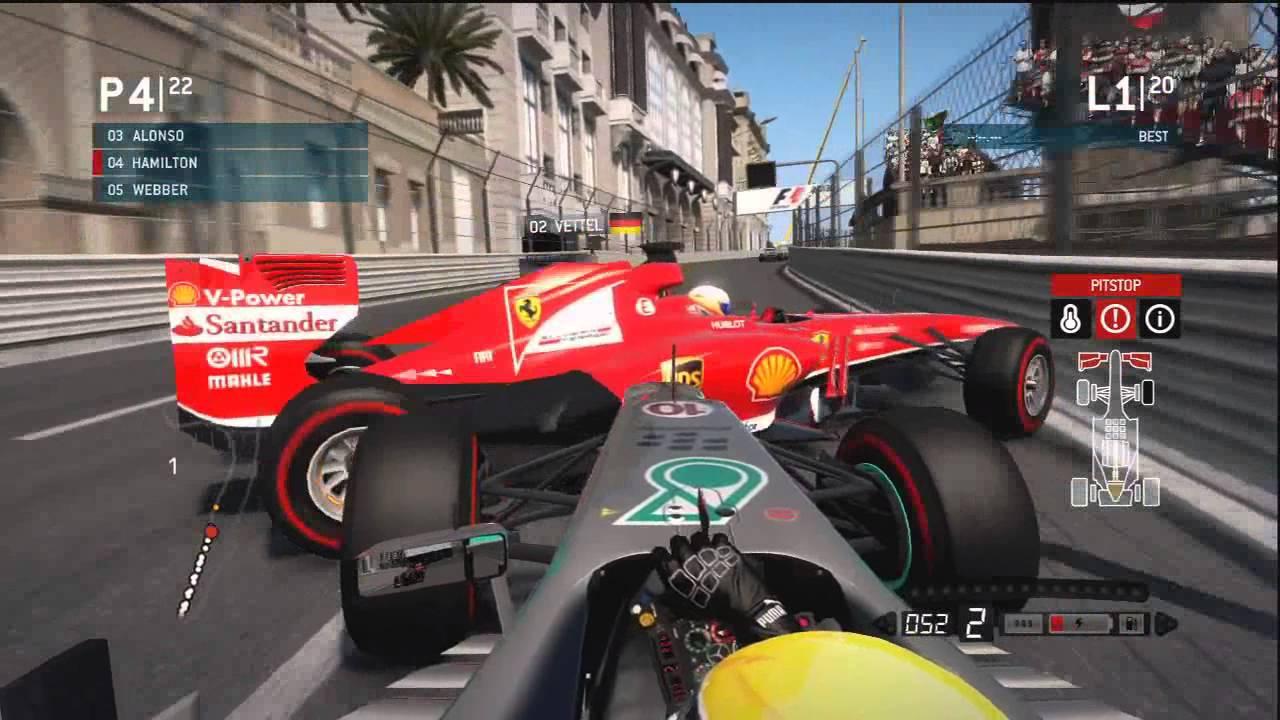 Formula 1 Warm-Up Video