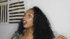 """HairAreUs   HAIR ARE US """"BRAZILIAN CURLY"""" REVIEW   Victoria Knight 1st Review"""