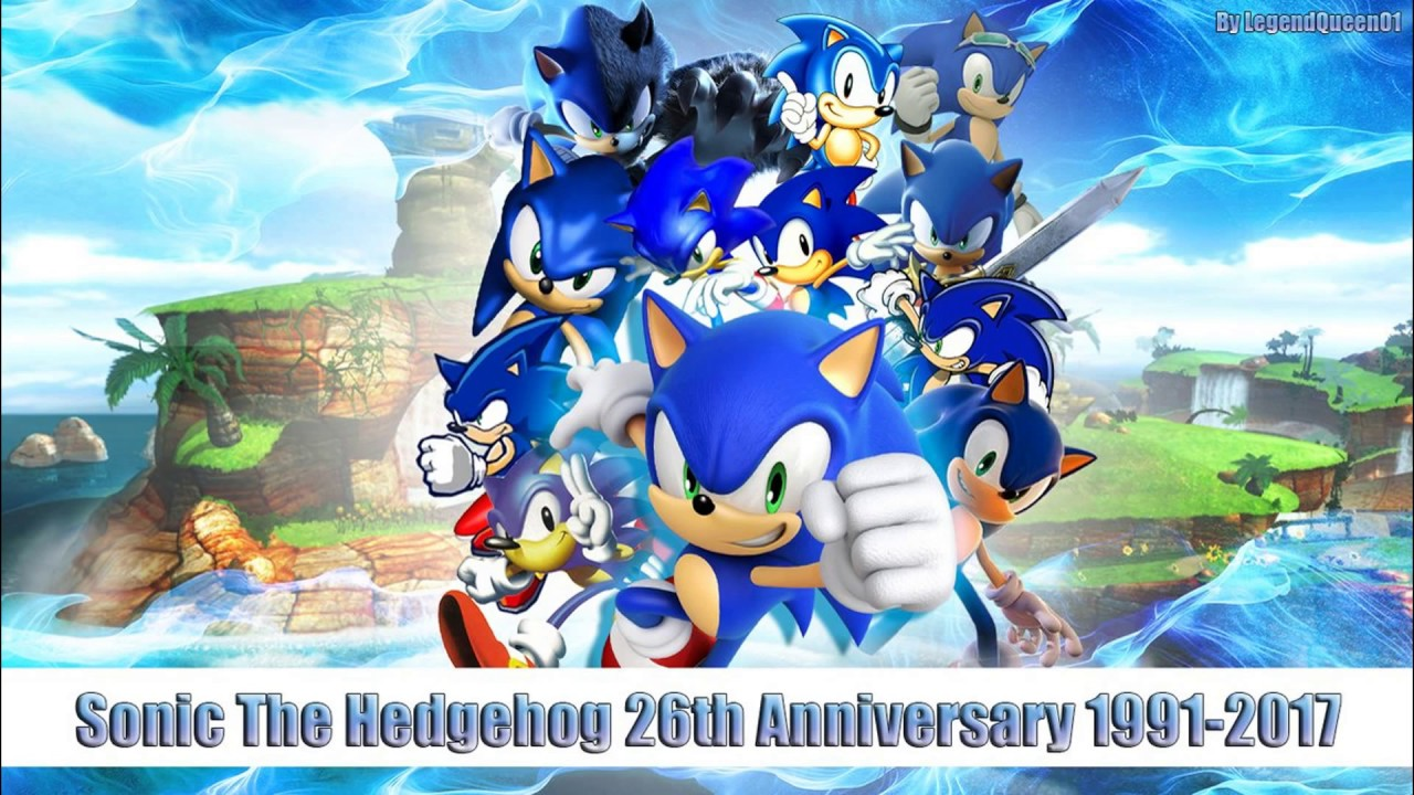 26th Wedding Anniversary Gift: Sonic The Hedgehog 26th Anniversary