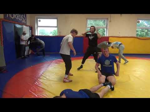 Random Clips Of USA Jr World Freestyle Training In Tallinn, Estonia