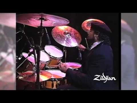 390 Moments of Zildjian - 1989 Buddy Rich Memorial Concert with Dennis Chambers