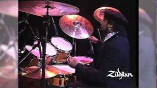 390 Moments of Zildjian - 1989 Buddy Rich Memorial Concert with Dennis Chambers