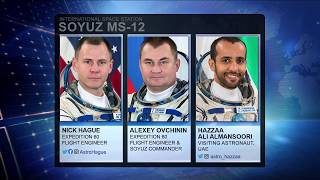 Expedition 60 /  Soyuz MS 12 Undocking - October 3, 2019