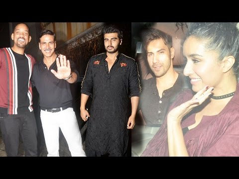 UNCUT: Bollywood Celebs At The Star-Studded Success Bash Of Akshay Kumar's Rustom!