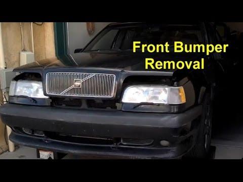 Front Bumper Repair >> Front Bumper Removal, Volvo 850, S70, XC70, etc. - Auto Repair Series - YouTube
