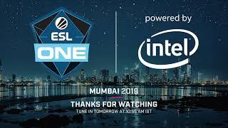 Live: ESL One Mumbai - Group Stage - Playoff