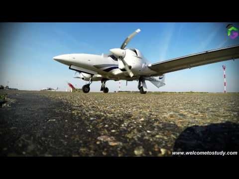 Flight practice in Saint Petersburg State University of Civil Aviation