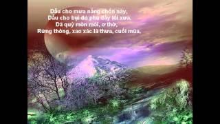 Tro Ve Mai Nha Xua- Le Tan Quoc Saxophone -VE DI EM -Tho Pt Minh Hung -BP
