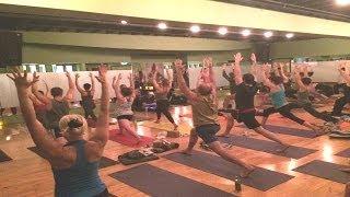 OM Yoga Vol. 2 San Francisco Release Party at Yoga Tree Potrero