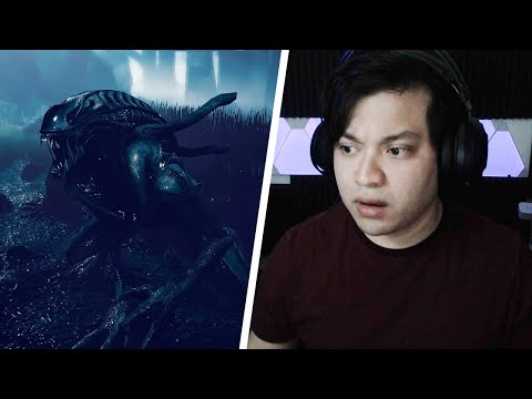 WOULD ALIEN WORK?!   Reacting to Dead By Daylight   The Alien Chapter   Gameplay Concept  