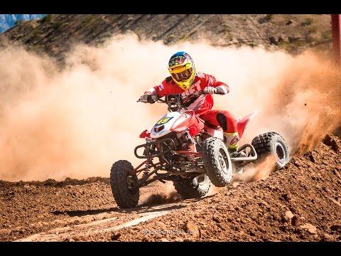 Honda TRX 450r Slow Motion At Mesquite MX Park