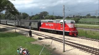 Illinois Railway Museum Diesel Days 7/18/15 & CBQ #504 Cabride!
