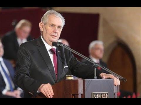 8.3.2018 - Miloš Zeman - inaugurační projev prezidenta