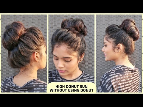 a-new-way-to-create-a-big-donut-bun-without-using-donut-/high-messy-bun-hairstyle