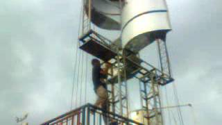 Testing Vertical Axis Wind Turbine