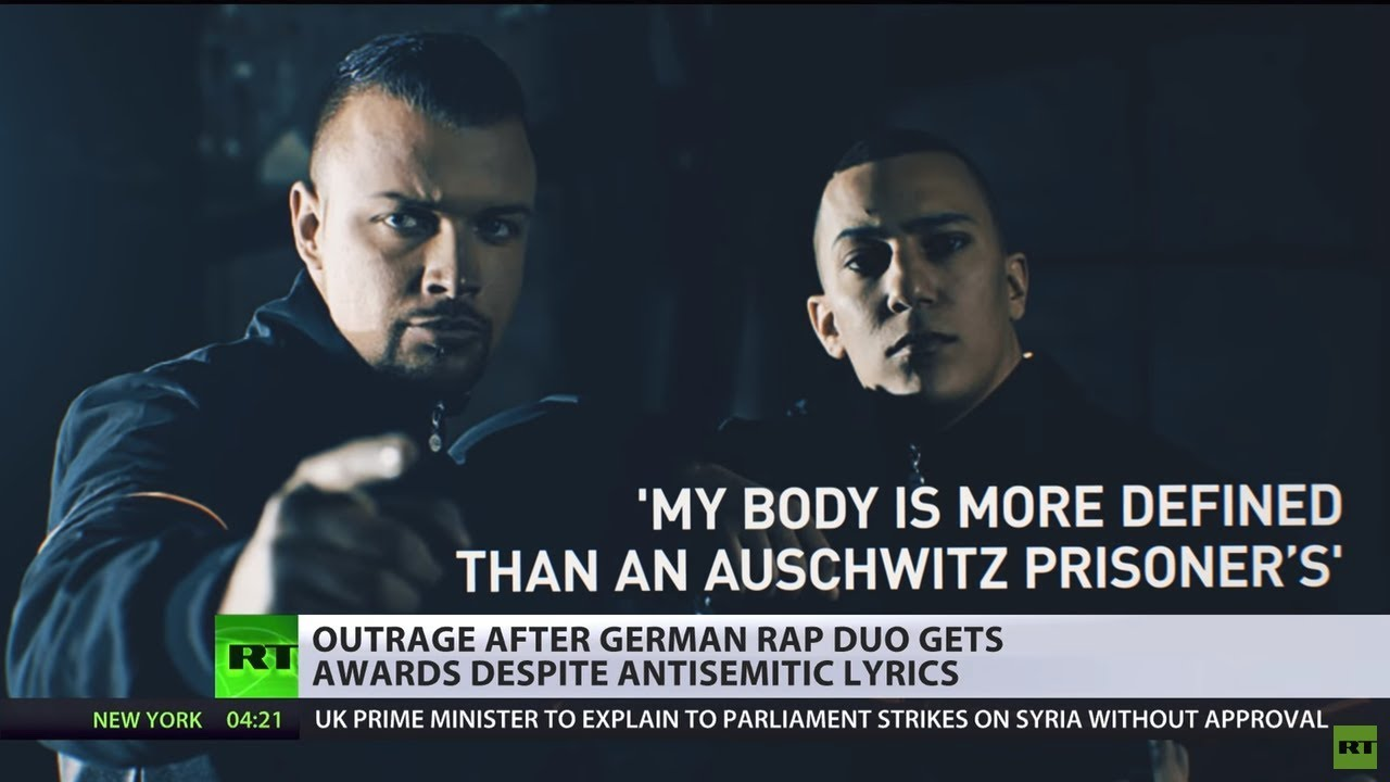 Nothing sacred? German rappers win top music award despite anti ... YouTube German rappers win top music award despite anti-Semitic lyrics